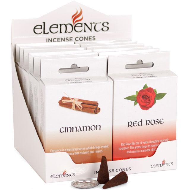 Elements Incense Cones